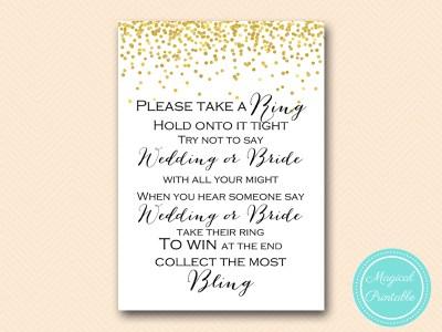 dont-say-wedding-bride-black-5x7 bridal shower game