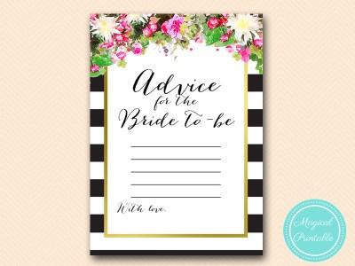 BS176-advice-bride-pink-floral-bridal-shower-games