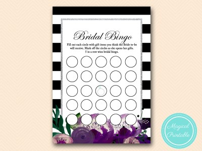 BS181-bingo-gift-items-purple-silver-bridal-shower-game