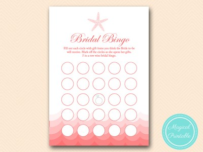 BS182-bingo-bridal-gift-items-nautical-coral-beach-bridal-shower-game
