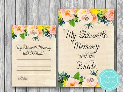 BS183-favorite-memory-with-bride-sign-rustic-burlap-floral-bridal-shower-games