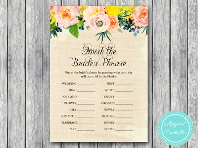 BS183-finish-the-phrase-rustic-burlap-floral-bridal-shower-games