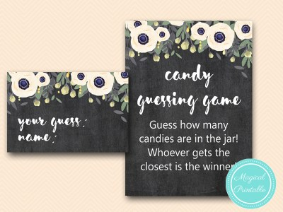 BS200-candy-guessing-game-sign-outdoor-chalkboard-bridal-shower-games