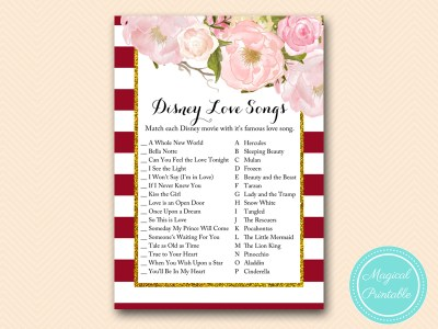 BS403-disney-love-songs-marsala-burgundy-bridal-shower-game-printable