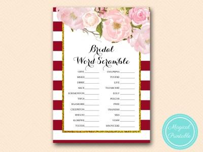 BS403-scramble-bridal-marsala-burgundy-bridal-shower-game-printable