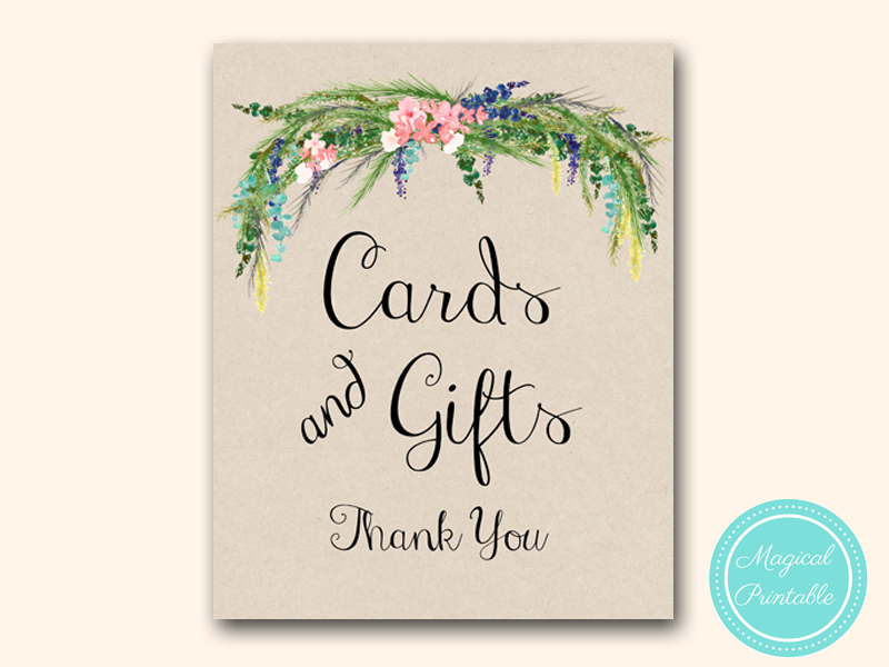 sign-cards-gifts-luau-bridal-shower-wedding-hawaiian-tropical-spring
