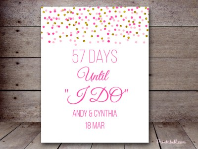 BS425-gold-pink-bridal-shower-wedding-count-down-sign