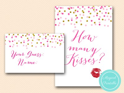 BS425-how-many-kisses-pink-gold-bridal-shower-game