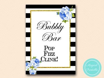 sign-bubbly-bar-blue-floral-black-stripes-printable-sign