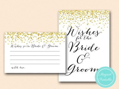 wishes-for-bride-groom-card-6x4-gold-confetti-bridal-shower-cards