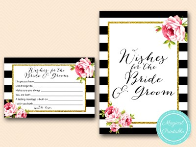 BS10B-wishes-for-the-bride-groom-pink-floral-chic-bridal-shower-game