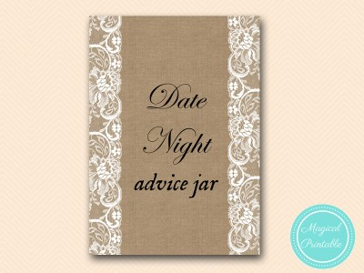 BS16-sign-date-night-advice-jar-burlap-lace-bridal-shower-decor-sign