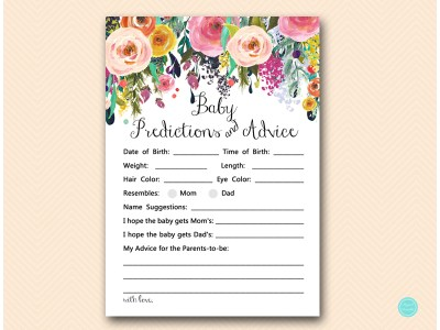 tlc140-baby-predictions-and-advice-usa-floral-shabby-chic-baby-shower-game