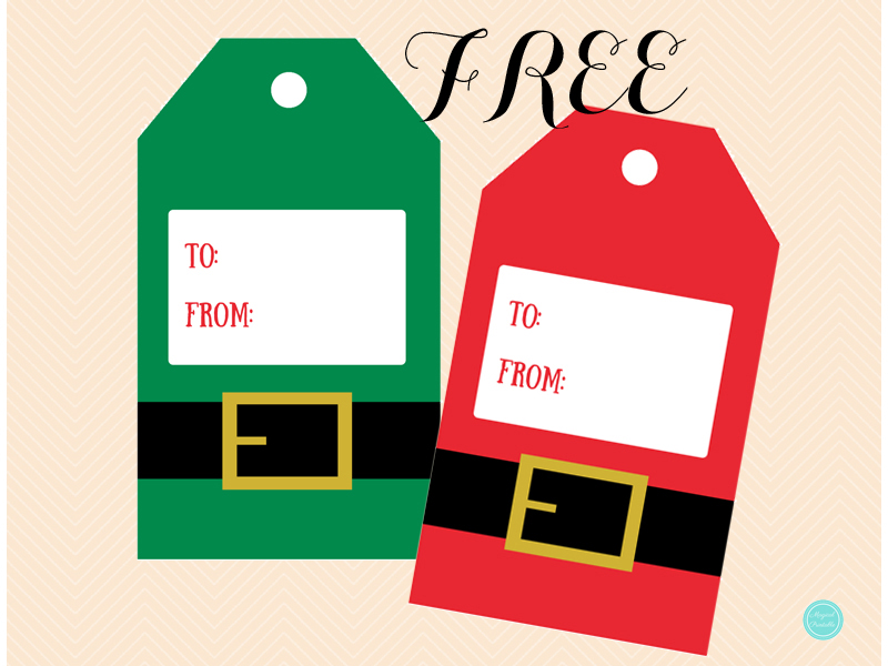 Free christmas santa elf gift tags magical printable free christmas santa elf gift tags negle Images