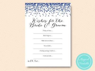 BS408-wishes-for-bride-groom-navy-bridal-shower-printables