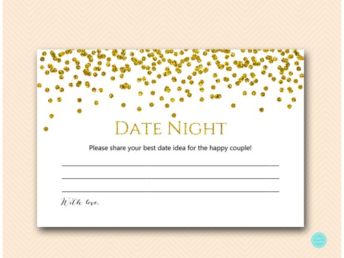BS281-date-night-card-6x4-gold-glam-bridal-shower-game