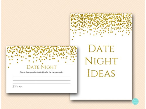 BS281-date-night-sign-5x7-gold-glam-bridal-shower-game
