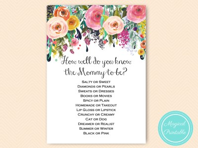 TLC140-how-well-know-mommy-secret-garden-baby-shower-games