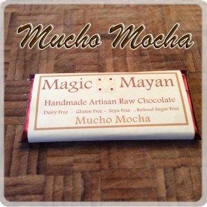 Mucho Mocha, the coffee flavoured Raw Chocolate Bar