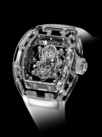 Montre RM 56-02 Tourbillon Saphir - Richard Mille