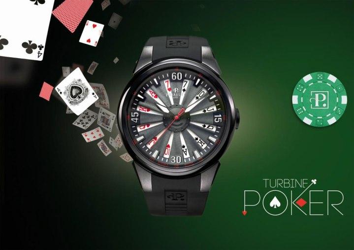 Montre Turbine Poker de Perrelet