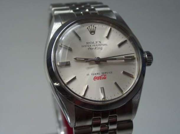 Rolex AK Coca Cola 25 years