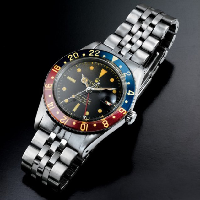 Rolex GMT Master Ref 6542 with Serpico Y Laino