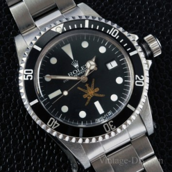 THE ROLEX GOLD 'OMAN KHANJAR' SEA-DWELLER