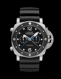 Panerai Luminor Submersible 1950 3 Days Chrono Flyback Automatic Titanio - 47 mm PAM00615