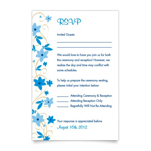 Medium Crop Of Wedding Rsvp Card Wording