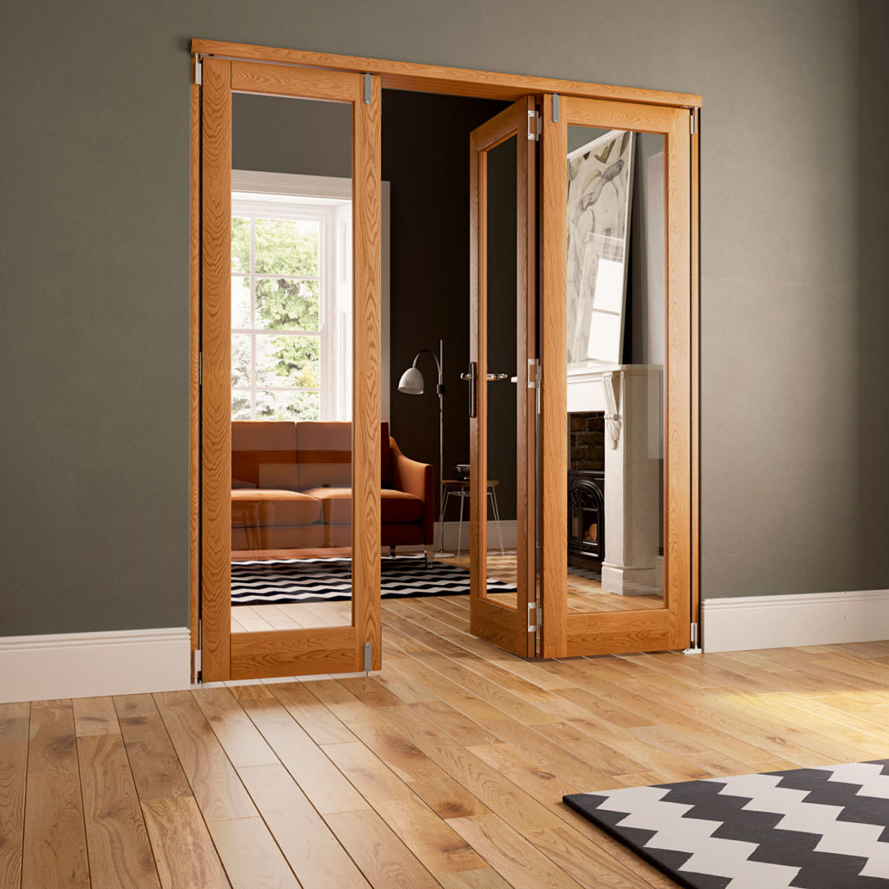 Internal Doors   Doors   Magnet Trade Bifold Doors