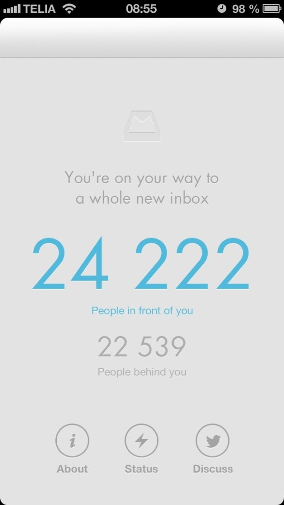 Mailbox app