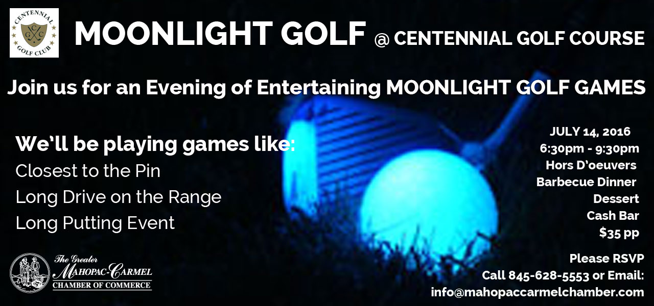 Moonlight Golf with Mahopac Carmel Chamber of Commerce