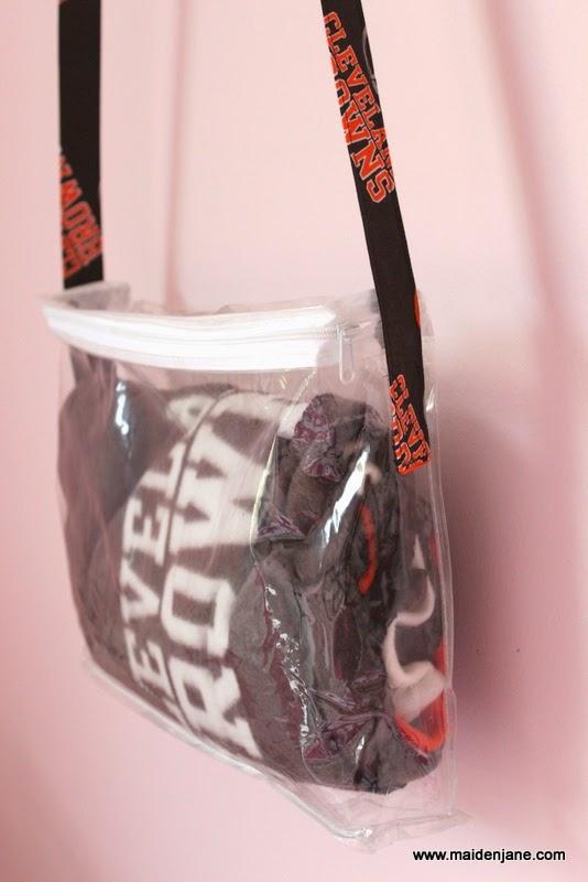 Diy Nfl Clear Tote Bag Maiden Jane