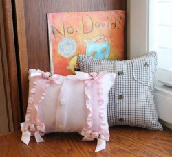 Mini Baby Memory Pillows