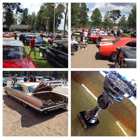 Mycket fina bilar på Yankee Car Meet Arvika idag...