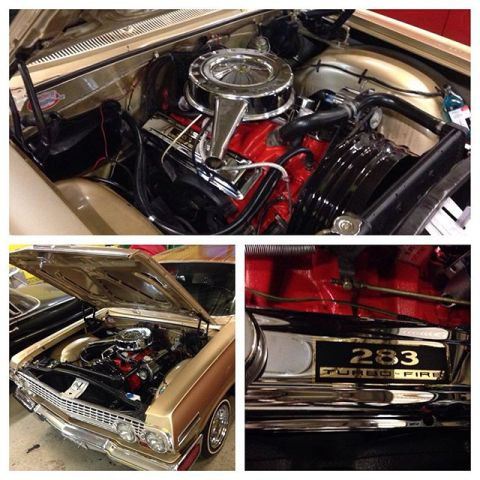 Chromed valve covers installed!