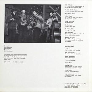 LP-1648, Northern Valley Boys