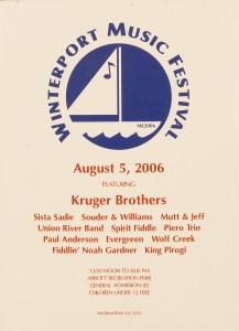 POST-0003, Winterport Music Festival, 2006