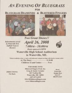 POST-0021, An Evening Of Bluegrass, 2008