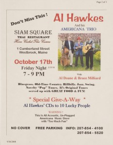 POST-0030, Al Hawkes And His Americana Trio