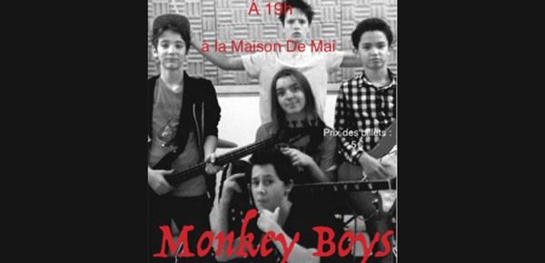Monkey Boys - Concert le 5 décembre 2015 à 19h