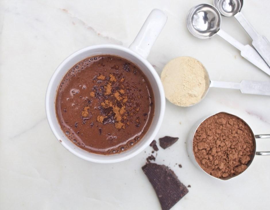 Maca Cacao Hot Chocolate