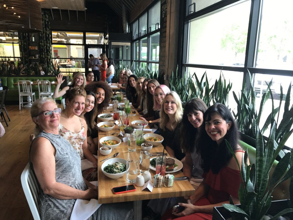 Beauty Heroes Lunch