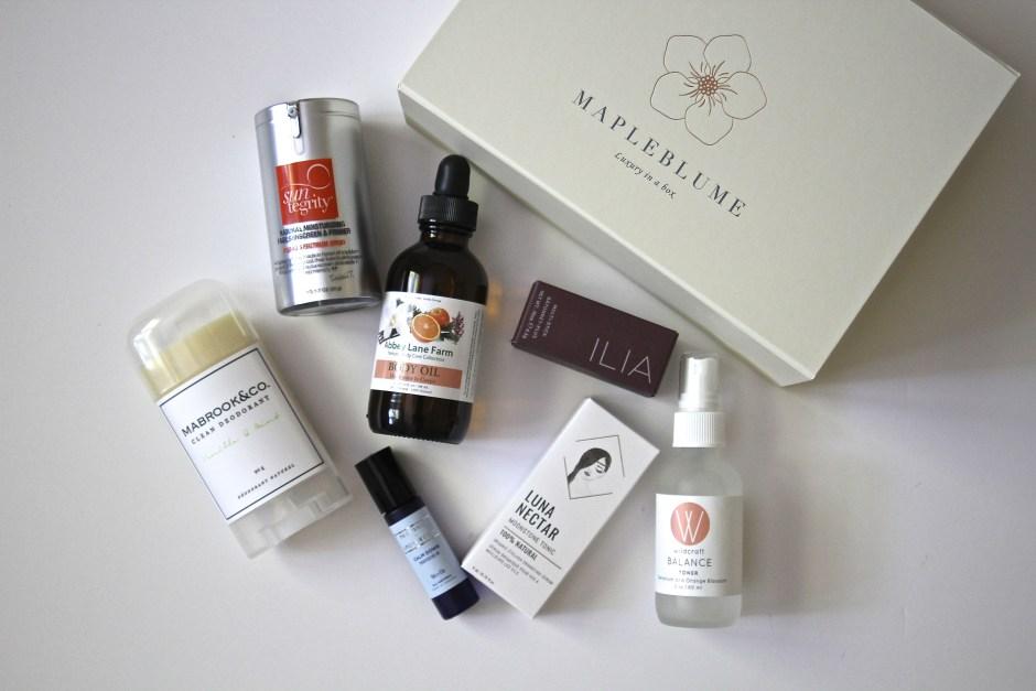 August Mapleblume box