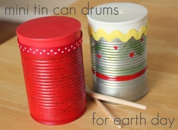 Earth Day Recycled Tin Can Craft 10 Kid Craft Ideas for Earth Day