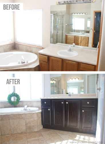 how to stain oak cabinets the simple method without sanding kitchen cabinet refinishing How to Stain OAK Cabinets the simple method no sanding necessary