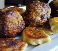 """Pierogi and Meatballs,"" from Make It Like a Man!"