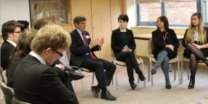 'Question Time' The Sixth Form and Mr David Rutley MP