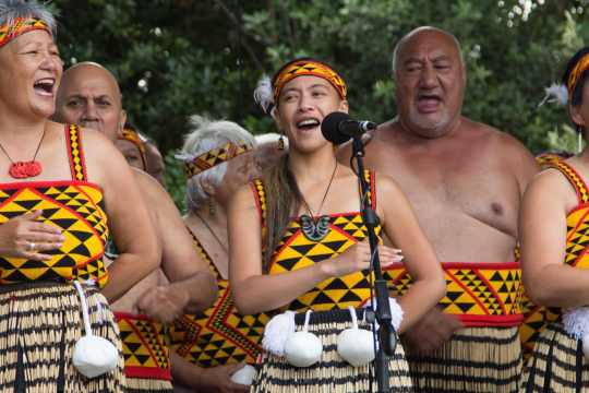 Patea Maori Club perform Poi E - article by Make Lemonade NZ